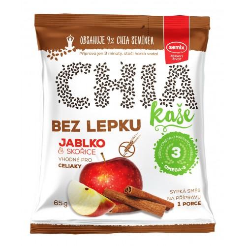 Chia kaše jablko se skořicí 65 g