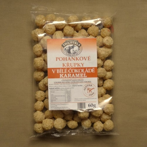 Pohankové křupky karamelové, 60 g