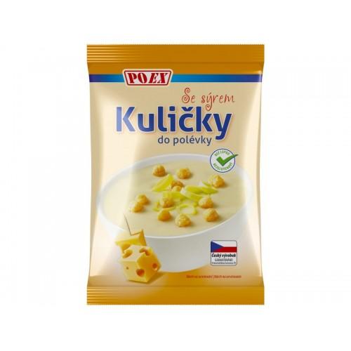 Kuličky do polévky sýrové, 50 g