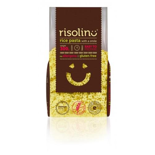 Rýžové těstoviny RISOLINO hvězdičky, 300 g