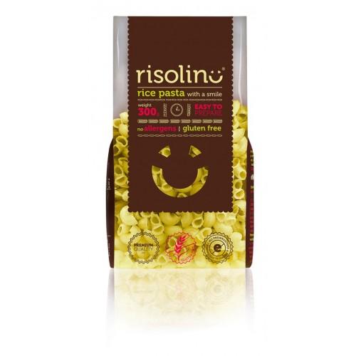 Rýžové těstoviny RISOLINO kolínka, 300 g