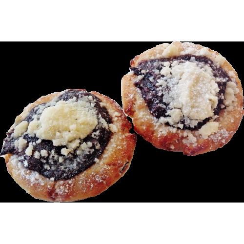 Koláček tlačený švestkový balený, 2 x 70 g