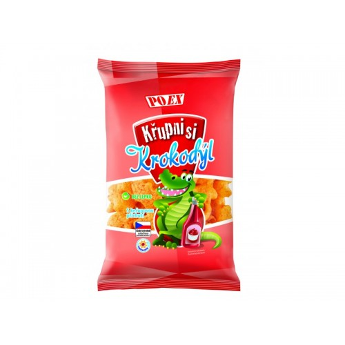 KŘUPNI SI krokodýl s kečupem, 100 g