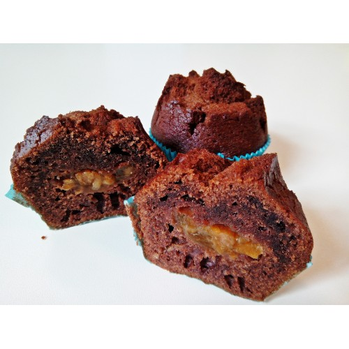 Muffin brownie s meruňkami balený, 2 x 85 g | min. trv. 21 dnů
