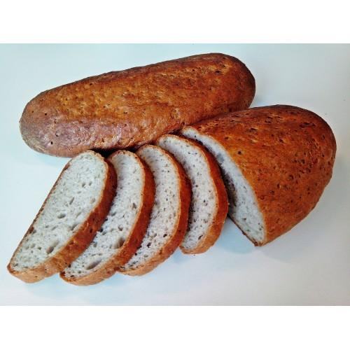 Chléb konzumní krájený balený půlka, 250 g